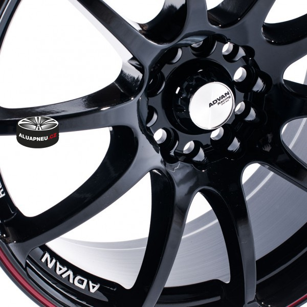 ADVAN RACING RZ BLACK 8687
